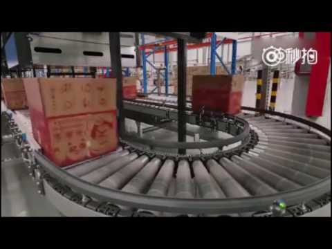 Get a sneak peek inside of an automated Chinese e-commerce warehouse