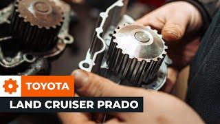 Comment remplacer des pompe à eau sur une TOYOTA LAND CRUISER PRADO J150 TUTORIEL | AUTODOC