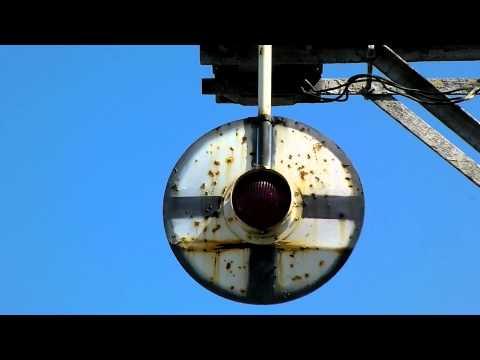 Wig Wag Railroad Crossing in Hawthorne, CA - 2011