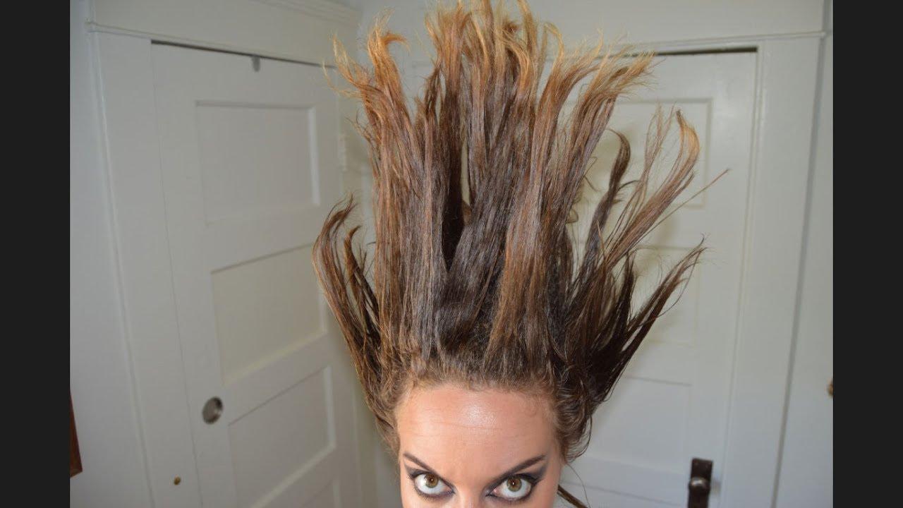 Wayne Static Static X Hair Tutorial In Memoriam Youtube