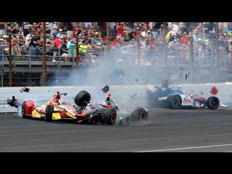 Indycar Crashes 2015