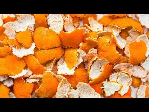 Si tiras las cáscaras de naranja, deja de hacerlo ahora