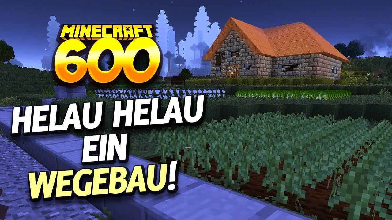 Einfach Mal Wieder Bauen MINECRAFT AFTER HUMANS YouTube - Minecraft haus bauen grob