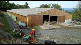 130-cow French suckler shed