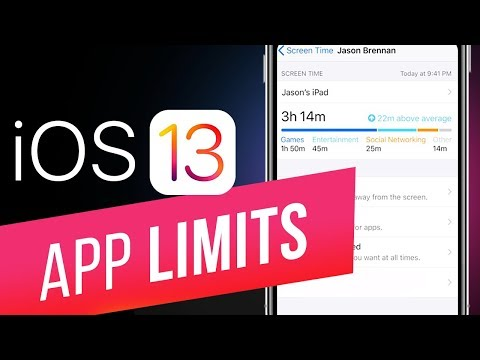 iOS 13: How to Use Screen Time and Setting App Limits? Communication Limits & Parental Control