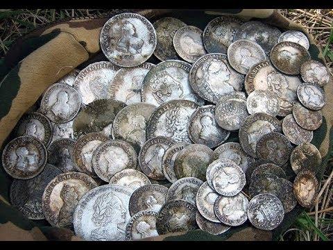 Клад монет Петра 1. Рассказ о поиске клада!