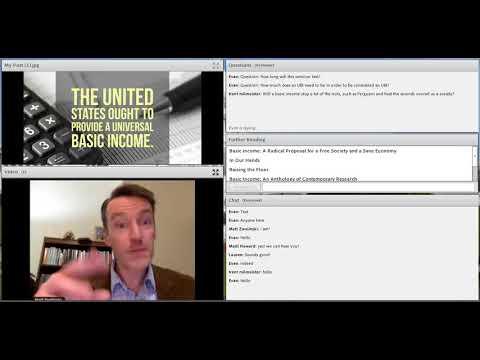 Lincoln-Douglas: Universal Basic Income