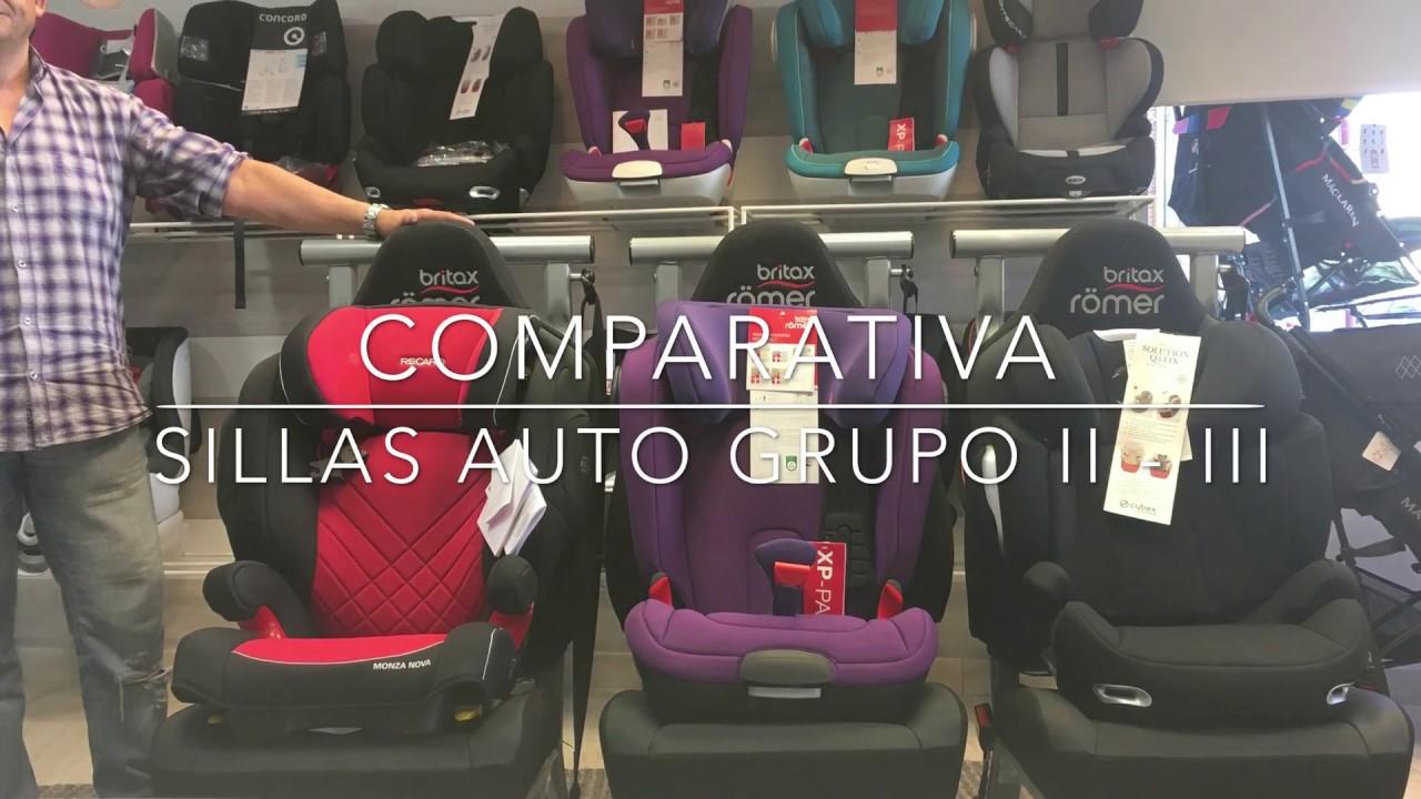d7d01e13dfc4b Comparativa Sillas Auto Grupo 2 3 -- RECARO - ROMER - CYBEX  4k . Algatec  Kids