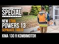 We visit Stihl for a sneak peek at their NEW Kombimotor KMA 130 R Battery Backpack