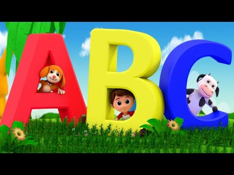 ABC Song | Learning Alphabets | Baby Song | Nursery Rhymes | Kids Rhyme By Luke & Lily