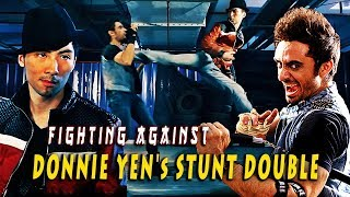 Video Fighting against Donnie Yen's Stunt Double  - Secrets of Martial Arts Fight Choreography download MP3, 3GP, MP4, WEBM, AVI, FLV Juli 2018