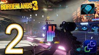 Borderlands 3 PC 4K Walkthrough - Part 2 - Zane Cult Following, Head Case