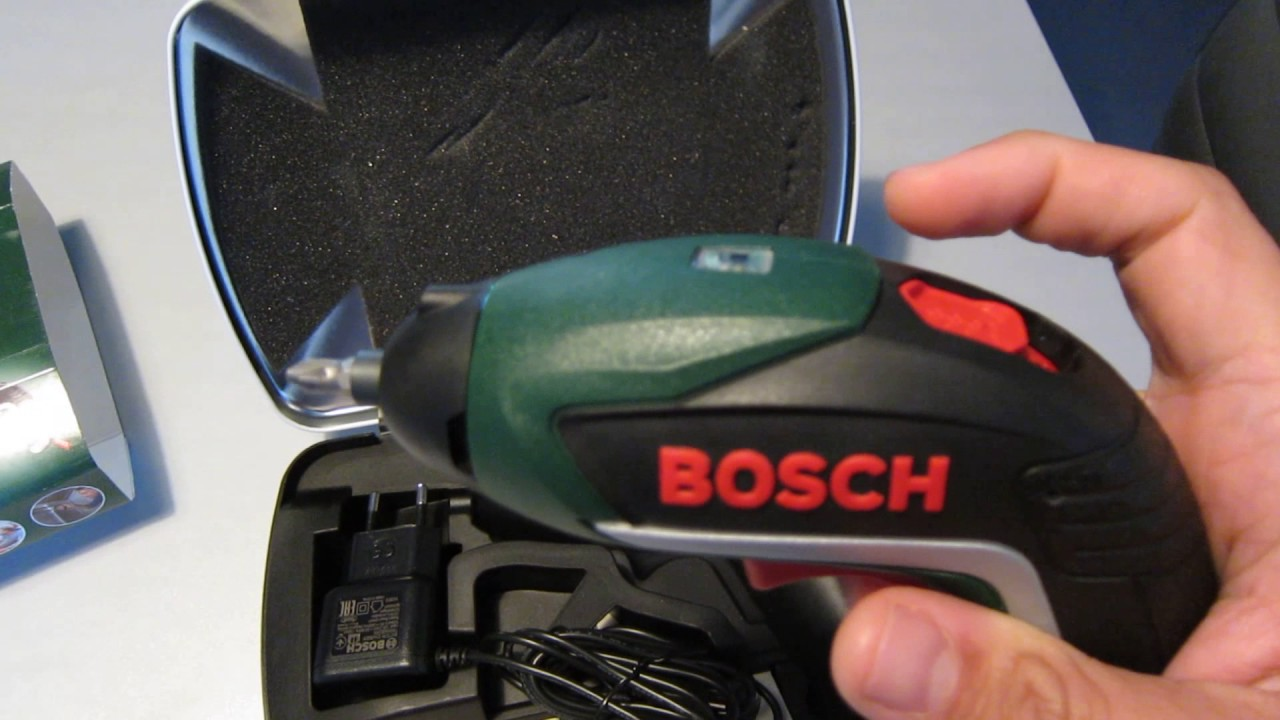 Bosch IXO Visseuse - YouTube 196c480c0895