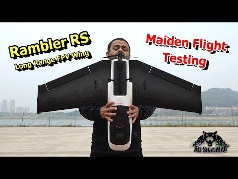 Flight Testing New Rambler RS Long Range FPV Flying Wing