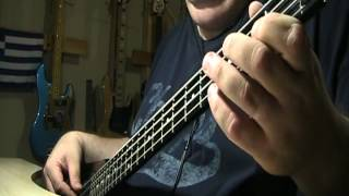 Pink Floyd Shine On You Crazy Diamond Part I-V Bass Cover