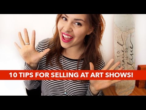 10 Tips for Selling at Art/Craft Shows!   Paige Poppe