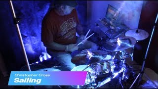 Sailing by Christopher Cross - Drum Cover (Modified Alesis/Laurin Electronic Drum Kit)