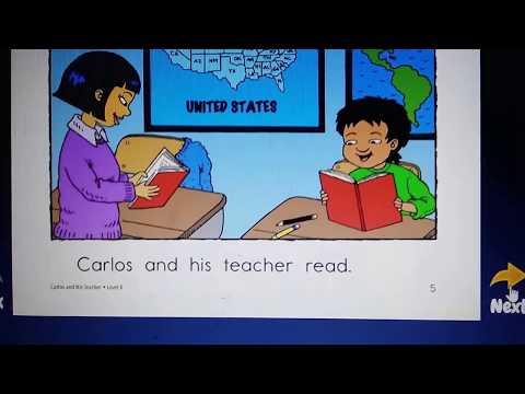 Carlos and His Teacher