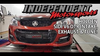 VF HOLDEN SV6 - OTR INTAKE, EXHAUST AND TUNE UPGRADE