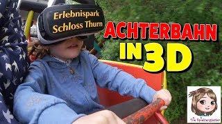 3D ACHTERBAHN - 1. Mal mit VR Brille im Erlebnispark Schloss Thurn + VERLOSUNG