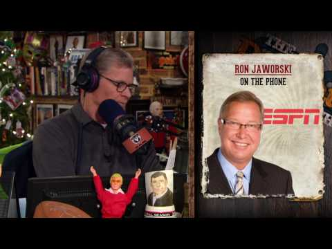 Ron Jaworski on The Dan Patrick Show (Full Interview) 12/22/16)