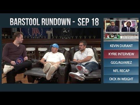 Barstool Rundown - September 18, 2017
