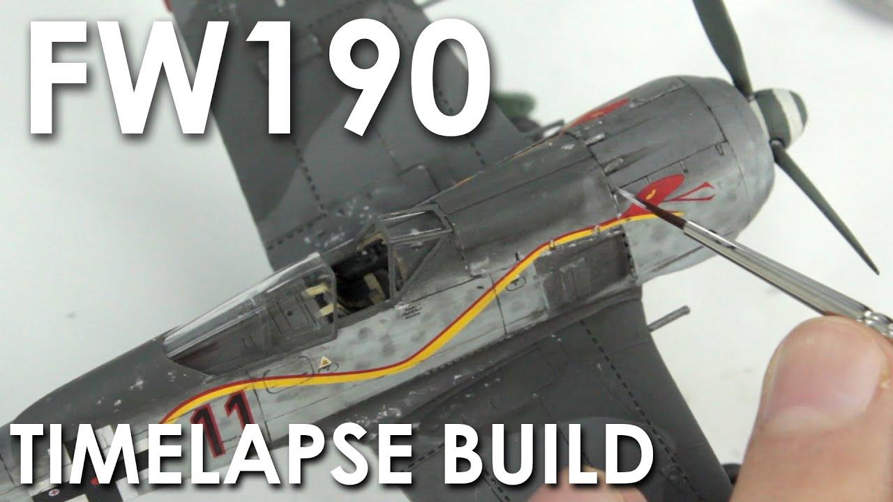 Airfix Fw190 Build & Review - 1:72 Scale Model Kit