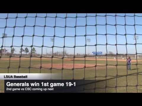 LSUA Baseball vs Culver Stockton College - Live from Alexandria, LA