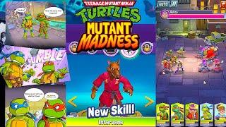 TMNT: Mutant Madness Trailer & Gameplay. Splinter received