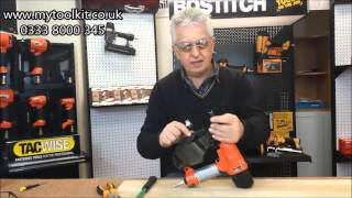 Quick And Easy! How to clear a nail jam in a Coil Nailer
