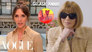 Anna Wintour Answers Questions From Victoria Beckham, Camille Rowe and More | Go Ask Anna