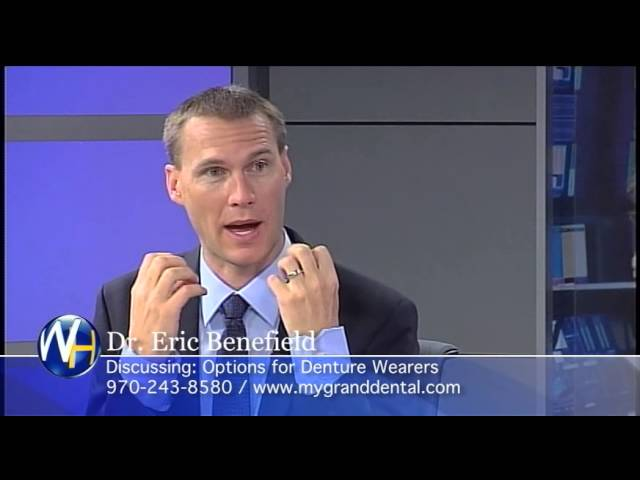 Options for Denture Wearers, Grand Junction, CO Dentist, Dr. Eric Benefield