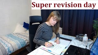 [SUPER REVISION DAY] Study With me [12 HOURS]   [50/10]