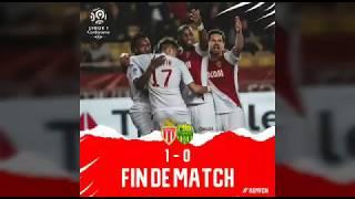 Monaco FC vs Nantes goals 16/02/219