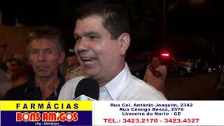 Inaugurando estrada em Morada Nova, Mauro Filho anuncia audiência do Prefeito Zé Maria com o Governador