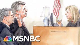 Robert Mueller Secures Full Cooperation, Guilty Plea From Paul Manafort | Rachel Maddow | MSNBC