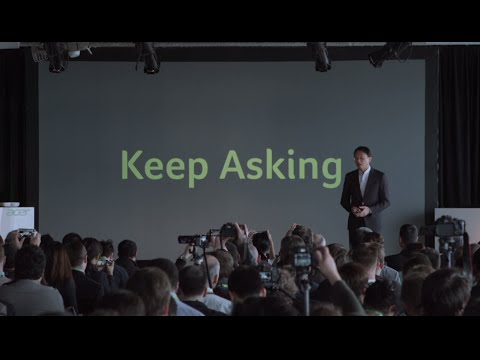 next@acer - Global Press Conference in New York - CEO Acer Jason Chen speech