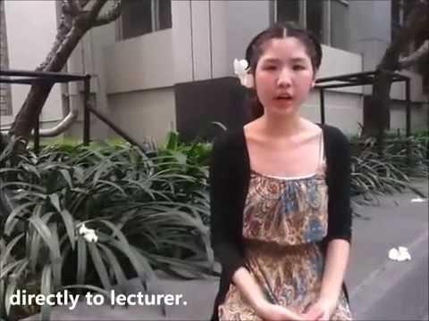 การมีส่วนร่วมในชั้นเรียน (Attending in Class of Thai University Student)