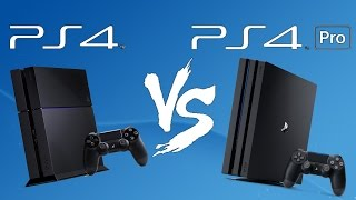 Ps4 vs Ps4 Pro - Comparison Test: Can you tell the difference?