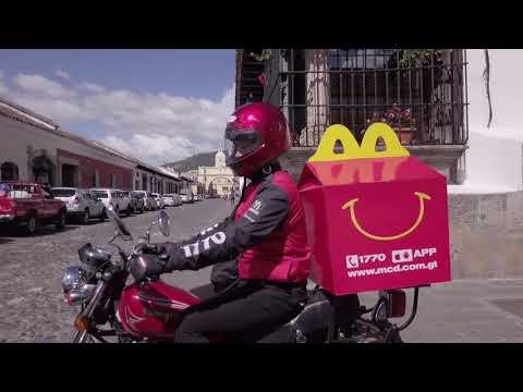 Llegó McDonald's Express a Antigua Guatemala