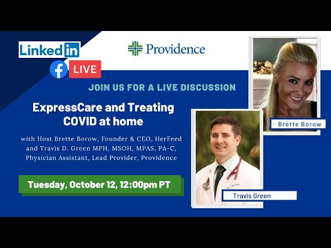 ExpressCare and treating COVID from home