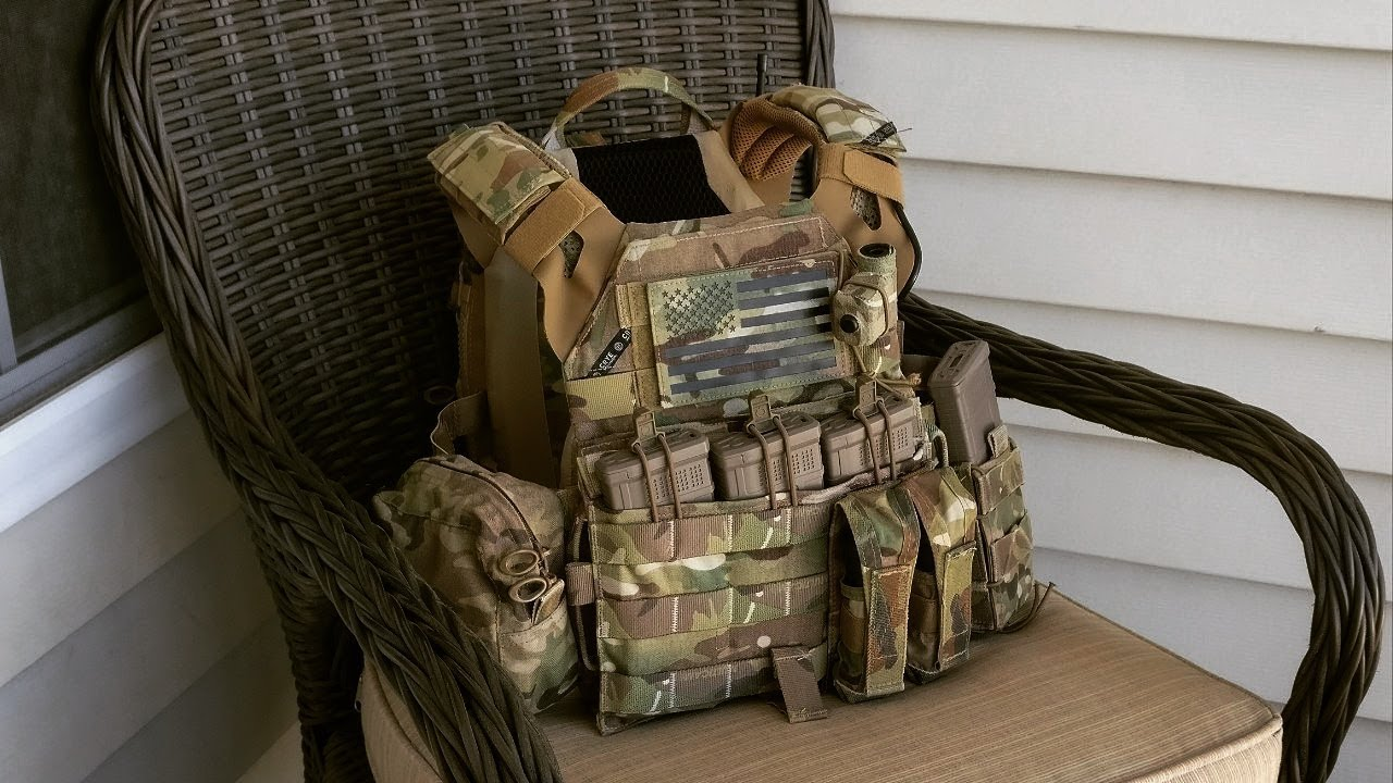 MultiCam Crye Precision JPC Jumpable Plate Carrier Vest Small