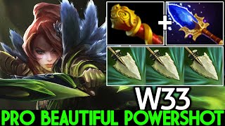 W33 [Windranger] Beautiful Poweŗshot King of Outplay Mid Dota 2