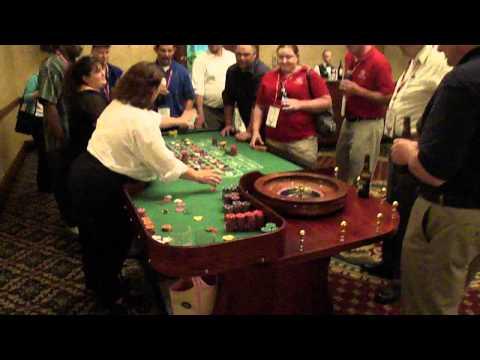 Video Roulette table rental edmonton