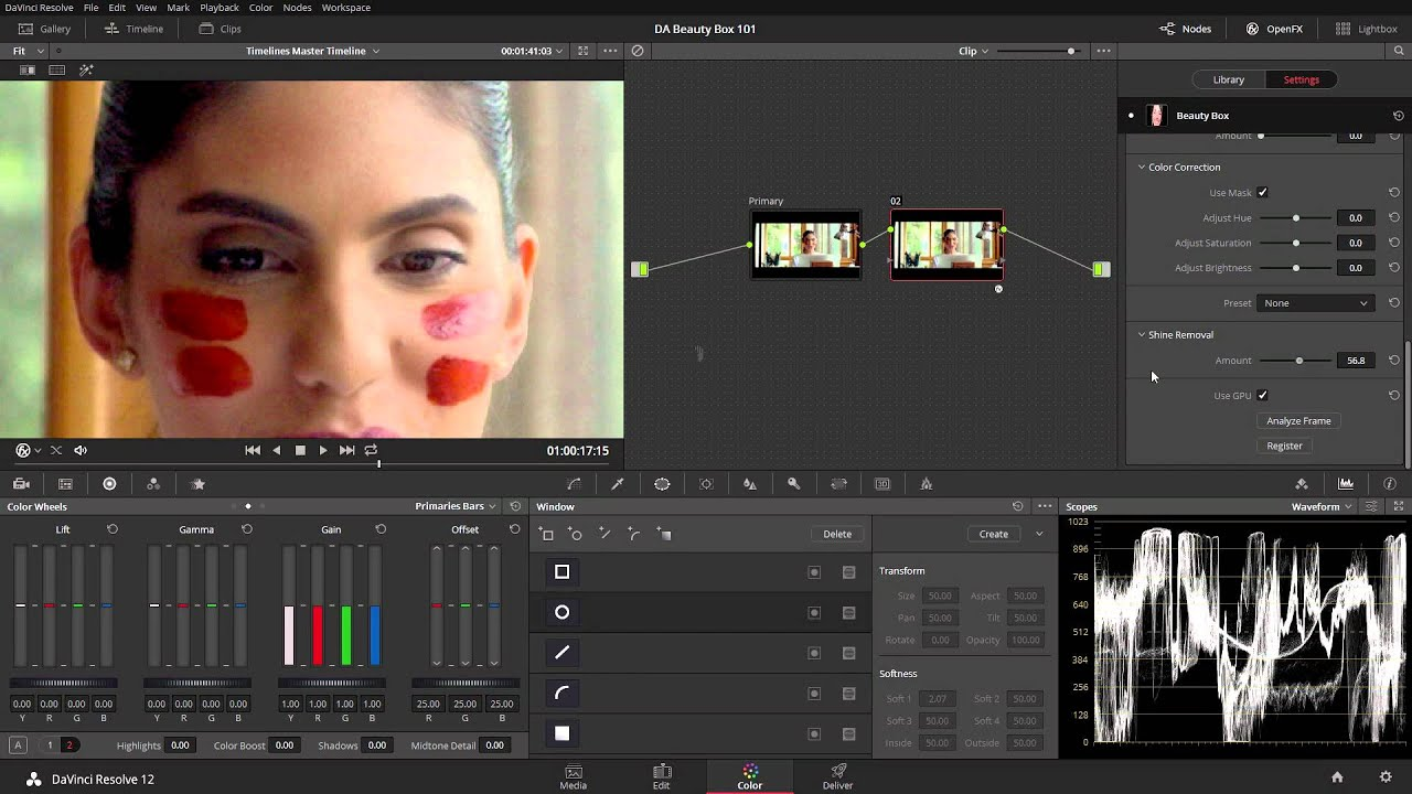 Tutorials for Beauty Box Video Retouch Plugin : After