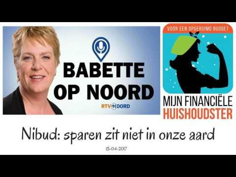 RTV Noord - Interview Sparen zit niet in onze aard