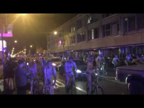 WNBR 2009 tous pays - World Naked Bike Ride (WNBR