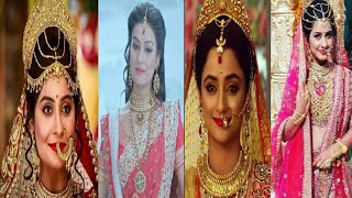 Beautiful & Gorgeous Actresses of StarPlus Serial Siya ke Ram  Madirakshi Munde Yukti Kapoor Rimpi 