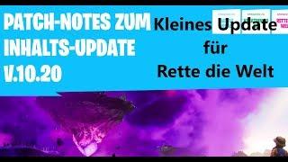 Fortnite - France Mise à jour du contenu du patch 10.20 Infos courtes
