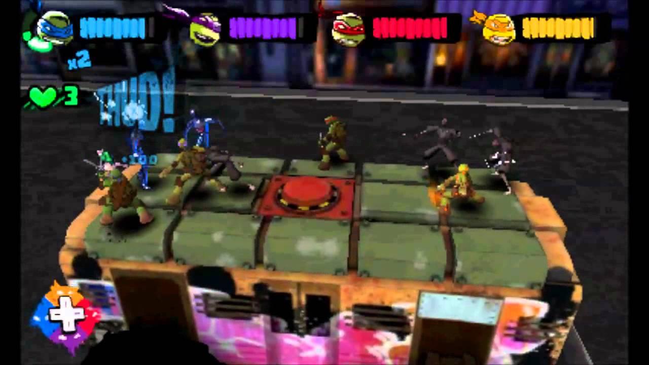 Teenage Mutant Ninja Turtles 3DS